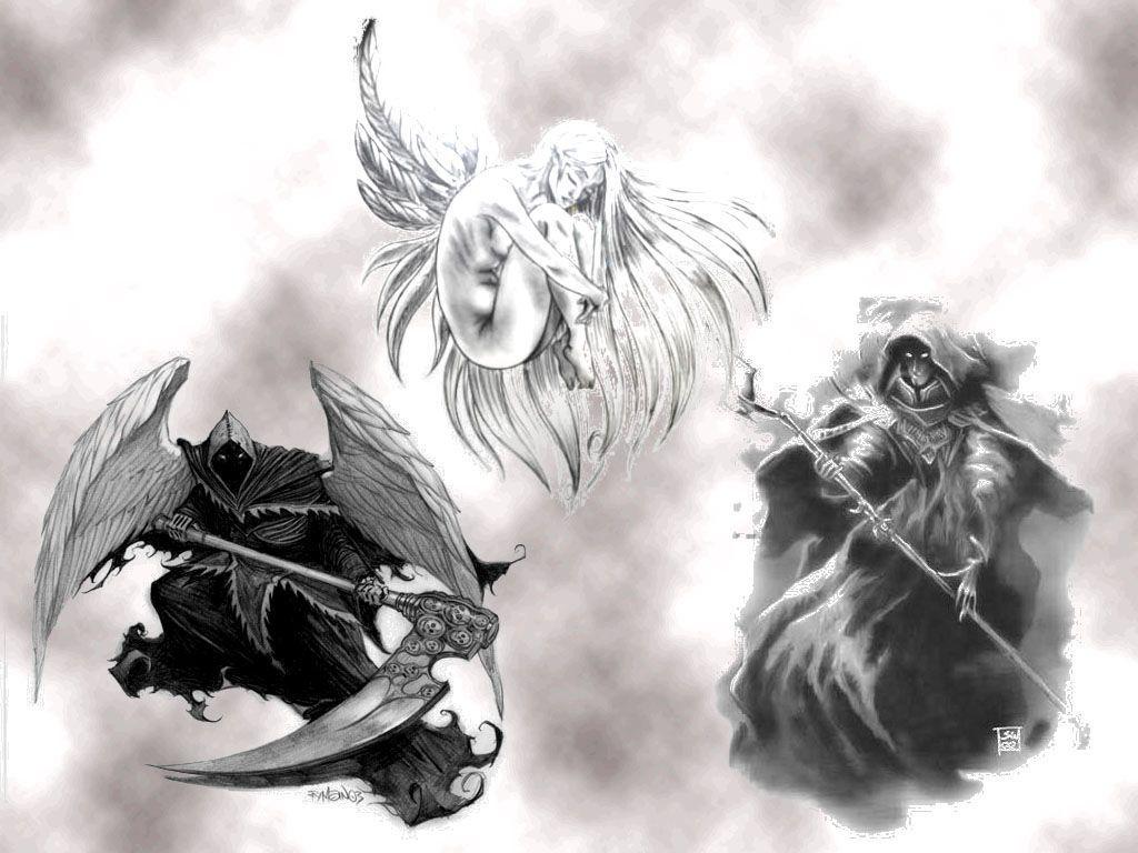 Monptitcoin page 297 - Dessin ange noir et blanc ...